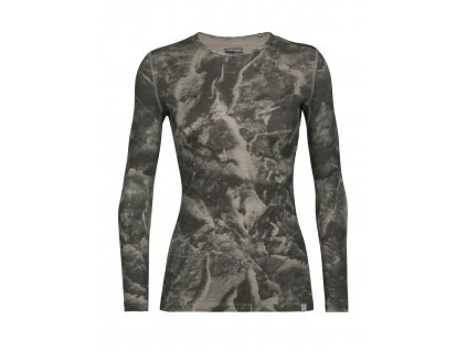 FW20 BASE LAYER WOMEN NATURE DYE 200 OASIS LS CREWE ANNIVERSARY IB GLACIER 105314039 1