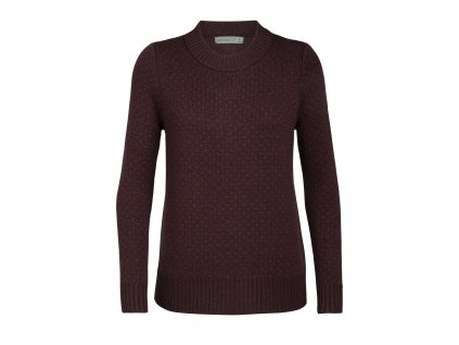 FW20 MID LAYER WOMEN WAYPOINT CREWE SWEATER 104316637 1