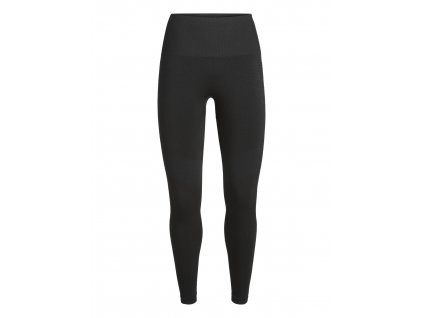 ICEBREAKER Wmns Motion Seamless High Rise Tights, Black (velikost XS)