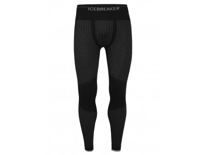ICEBREAKER Mens 200 Zone Seamless Leggings, Black (velikost XXL)