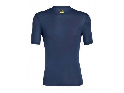 ICEBREAKER Mens 175 Everyday SS Crewe, Estate Blue (velikost XXL)