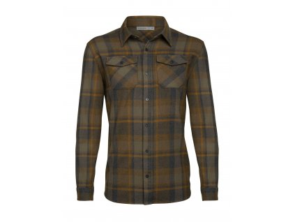 FW20 FIRST LAYER MEN LODGE LS FLANNEL SHIRT 104478A40 1