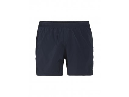 ICEBREAKER Mens Impulse Running Shorts, Midnight Navy (velikost XXL)