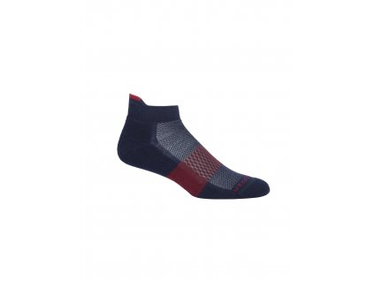 ICEBREAKER Mens Multisport Light Micro, Midnight Navy (velikost XL)
