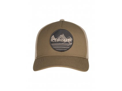 ICEBREAKER Adult Icebreaker Graphic Hat, Flint/British Tan (velikost OS (UNI))