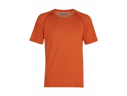 ICEBREAKER Mens Motion Seamless SS Crewe, Roote (velikost XL)