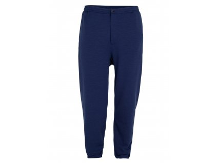 ICEBREAKER Mens 200 Terry Jogger Pants, Royal Navy (velikost XXS)