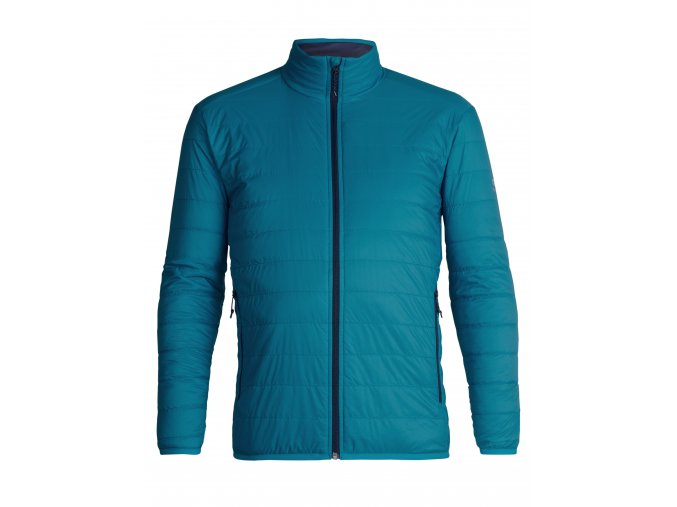 ICEBREAKER Mens Hyperia Lite Jacket, Alpine/Midnight Navy  103871