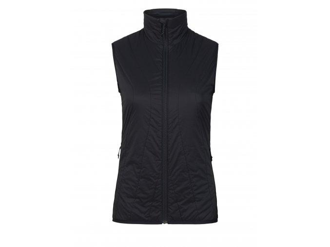 ICEBREAKER Wmns Hyperia Lite Hybrid Vest, Black  104286