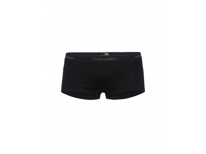 ICEBREAKER Wmns 200 Oasis Boy shorts, Black  104467