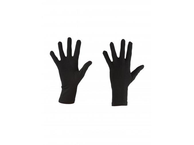 ICEBREAKER Adult 200 Oasis Glove Liner, Black (velikost XS)