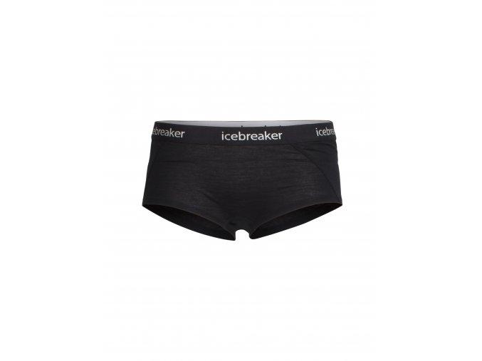 ICEBREAKER Wmns Sprite Hot pants, Black/Black  103023