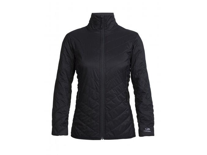 ICEBREAKER Wmns Hyperia Lite Jacket, Black  103926