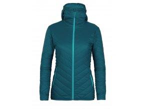 ICEBREAKER Wmns Hyperia Hooded Jacket, Kingfisher/ARCTIC TEAL  103931