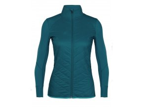 ICEBREAKER Wmns Descender Hybrid Jacket, Kingfisher/ARCTIC TEAL  104282