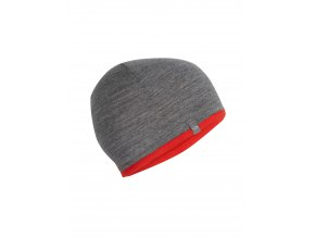 ICEBREAKER Adult Pocket Hat, CHILI RED/Gritstone HTHR  IBM200