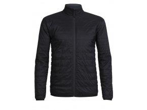 ICEBREAKER Mens Hyperia Lite Jacket, Black