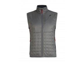 ICEBREAKER Mens Helix Vest, TIMBERWOLF/Black