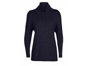 ICEBREAKER Wmns Nova Pullover Sweater, Midnight Navy