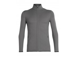ICEBREAKER Mens Away LS Zip, TIMBERWOLF/Monsoon