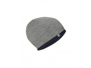 ICEBREAKER Adult Pocket Hat, Midnight Navy/Gritstone HTHR
