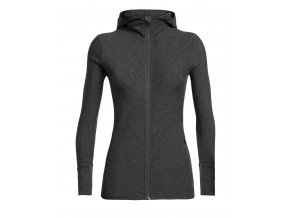 FW19 ADVENTURE WOMEN DESCENDER LS ZIP HOOD 104491002 1