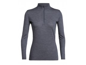 FW19 TRAINING WOMEN AMPLIFY LS HALF ZIP 104815031 1