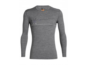 FW19 BASELAYER MEN 200 OASIS LS CREWE SINGLE LINE SKI 104898013 1