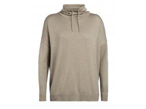 ICEBREAKER Wmns Nova Pullover Sweater, British Tan (velikost XS)