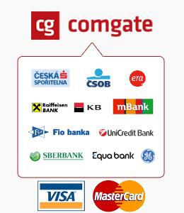 Přijímáme ePlatby COMGATE