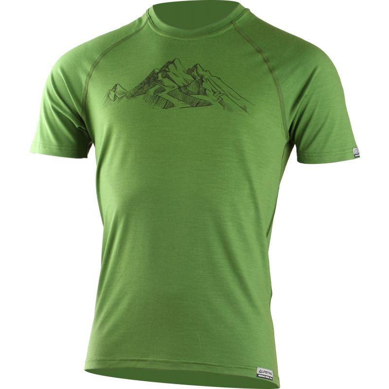 lasting-panske-merino-triko-s-tiskem-hill-zelene-6060