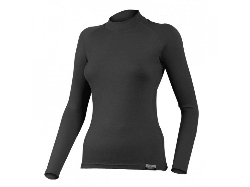 Lasting dámské merino triko WERA černé