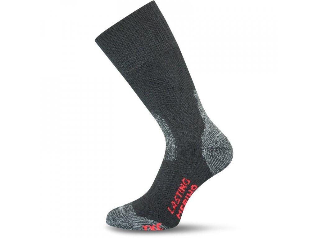 Lasting merino ponožky TXC černé
