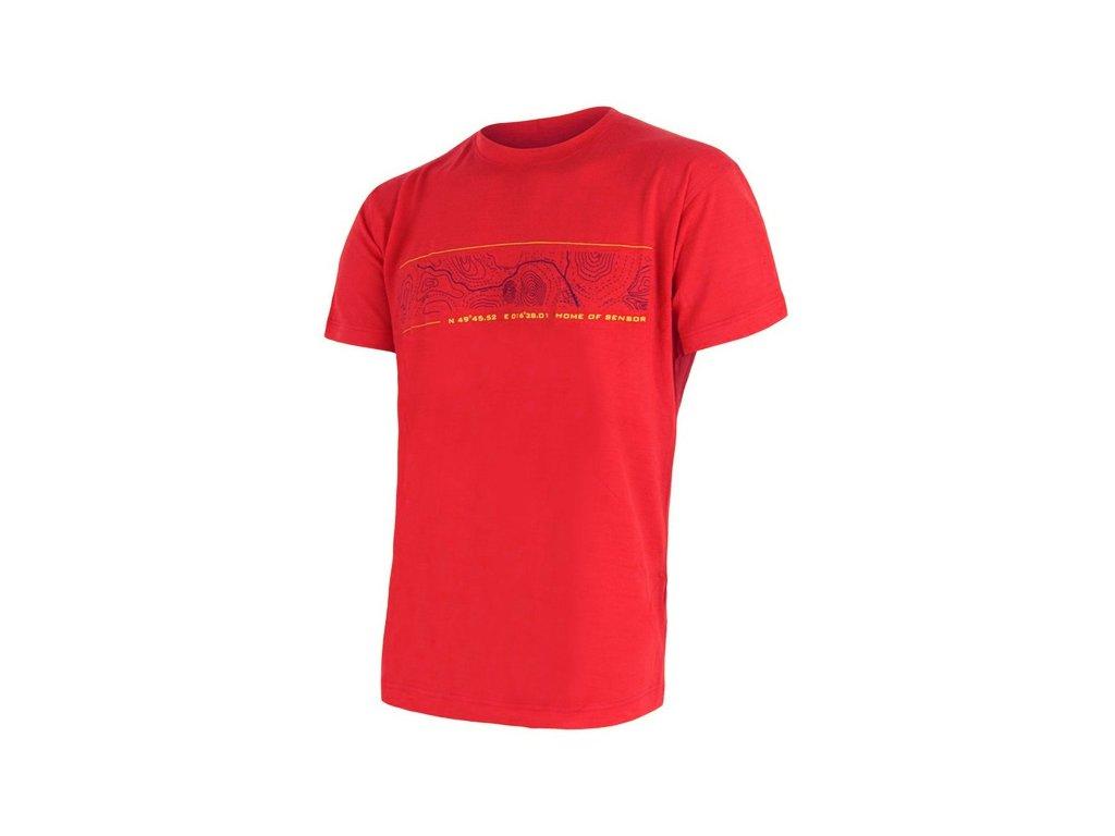 SENSOR MERINO ACTIVE PT GPS pánské tričko