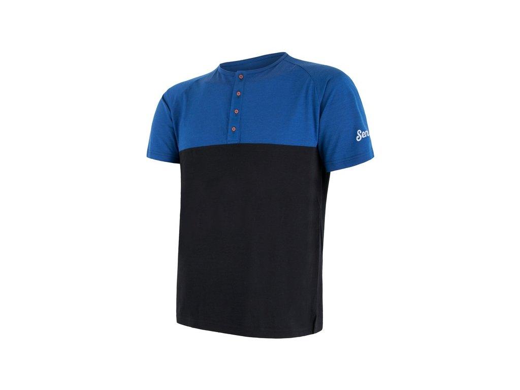 SENSOR MERINO AIR PT tričko s knoflíky