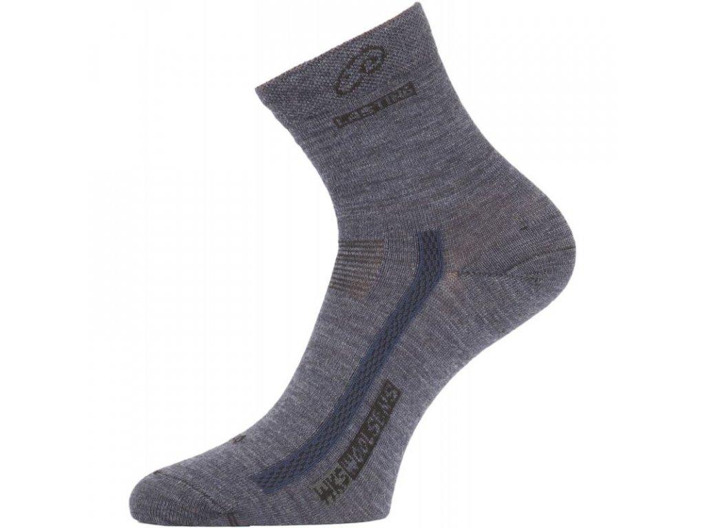 Lasting merino ponožky WKS modré