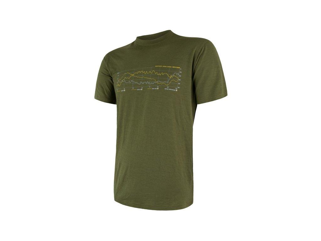 SENSOR MERINO ACTIVE PT TRACK pánské tričko