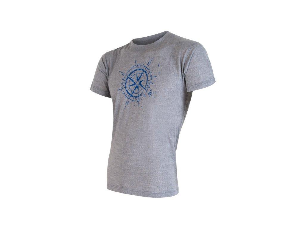 SENSOR MERINO ACTIVE PT KOMPAS pánské tričko