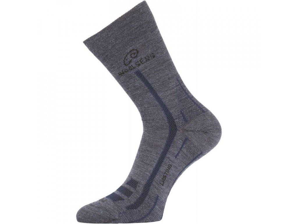 Lasting merino ponožky WLS modré