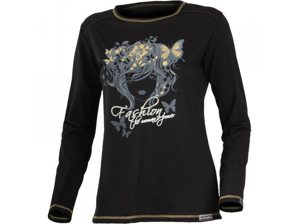 Lasting FLER Merino triko s potiskem