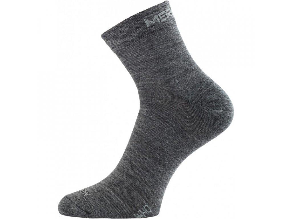 Lasting merino ponožky WHO šedé