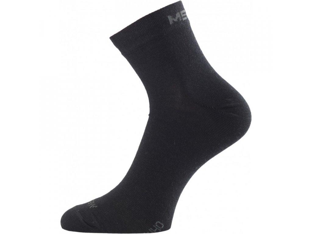 Lasting merino ponožky WHO černé