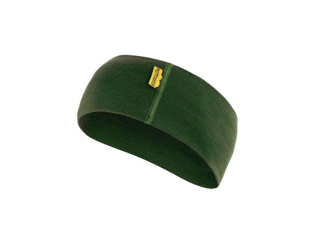 SENSOR ČELENKA merino wool zelená