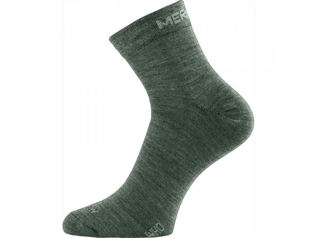 Lasting merino ponožky WHO zelené