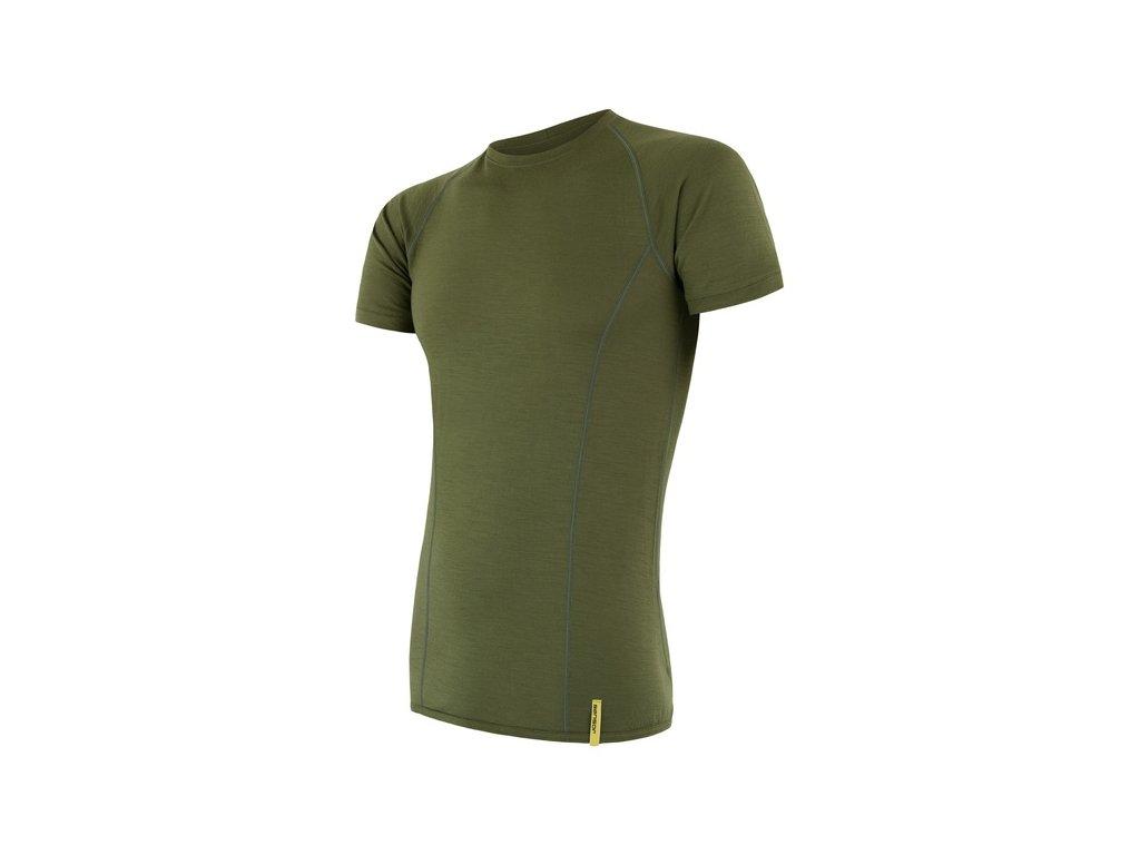 SENSOR MERINO ACTIVE pánské tričko