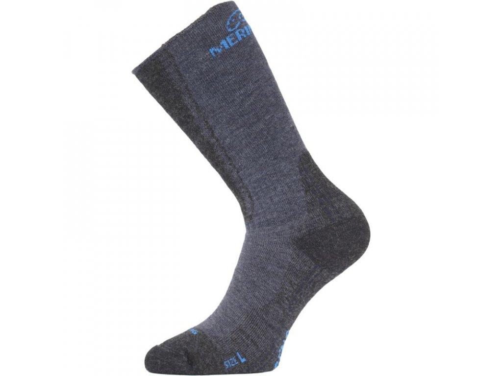 Lasting merino ponožky WSM modré
