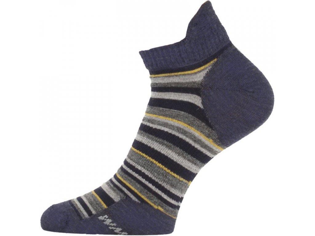 Lasting merino ponožky WPS modré-šedé