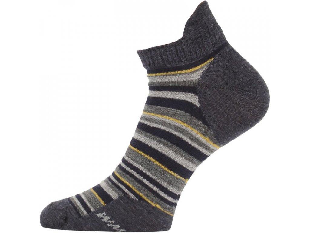 Lasting merino ponožky WPS šedá