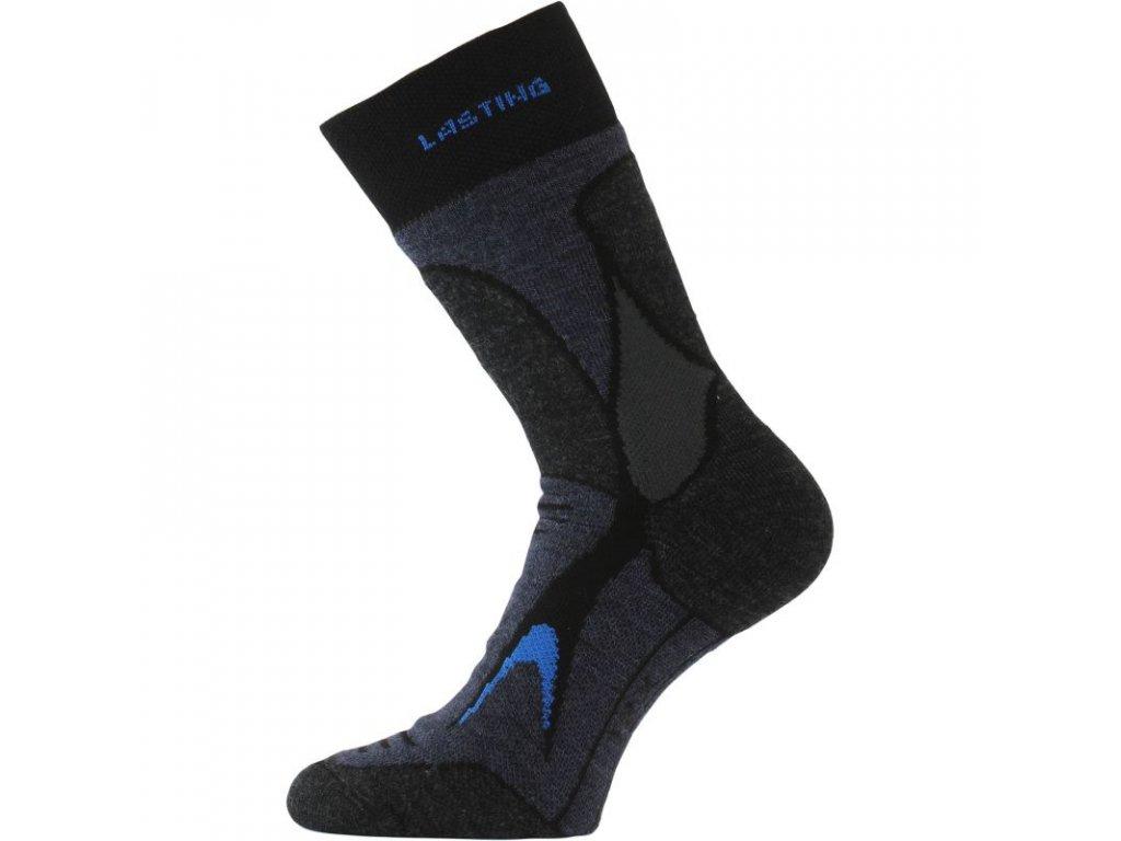 Lasting merino ponožky TRX černé