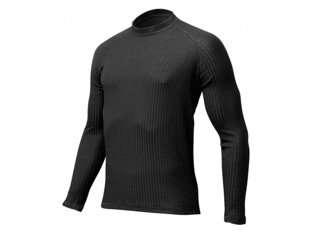 Lasting pánské merino triko SWU černé